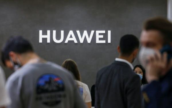 英政府は2020年7月、5Gインフラから中国ファーウェイを排除することを決めている=ロイター