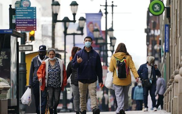 米国勢調査は人口の伸びの鈍化が目立った=AP