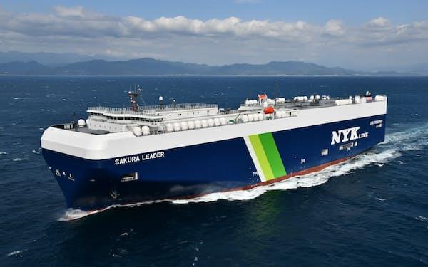 日本郵船は日本~中央アジア~欧州間の完成車物流網の連携を強化する