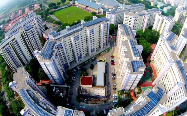 サンシープ社はシンガポールなどで分散型太陽光事業を展開する