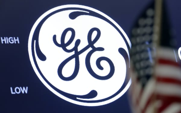 GEは航空機リース事業の売却に伴う損失が膨らんだ=AP