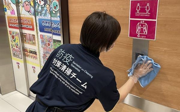 イオンディライトは感染症の基礎知識を学んだ担当者による清掃サービスを展開