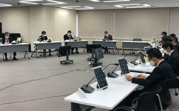 原子力規制委員会は福島第2原子力発電所の廃炉計画を認可(28日、東京・港)