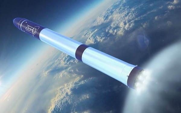丸紅が出資したインターステラ社は衛星搭載ロケット「ZERO」を開発中(写真はイメージ)