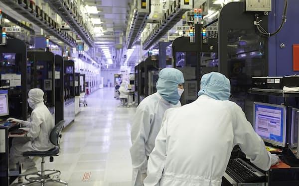 メモリー市況回復でSKハイニックスは業績好調(同社の半導体工場)