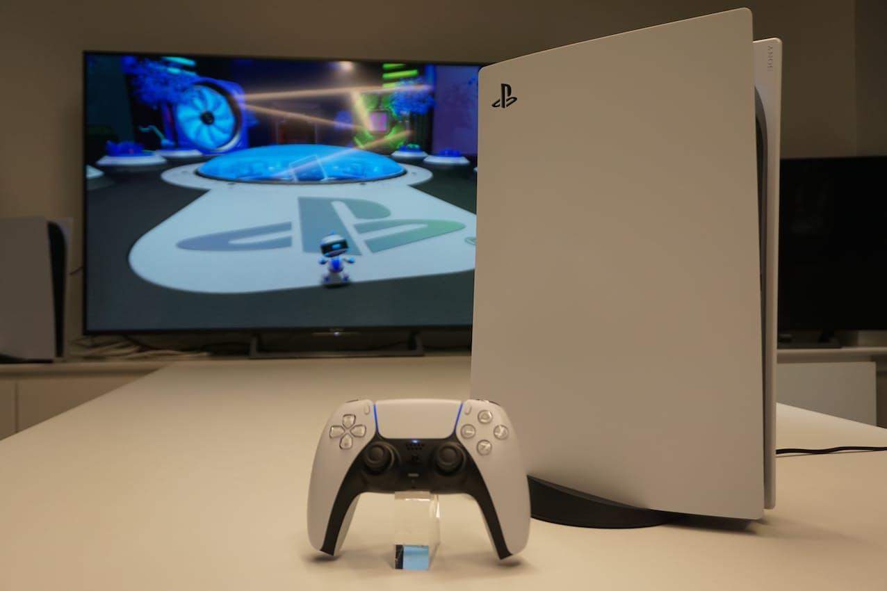 ソニーグループの据え置き型ゲーム機「プレイステーション(PS)5」