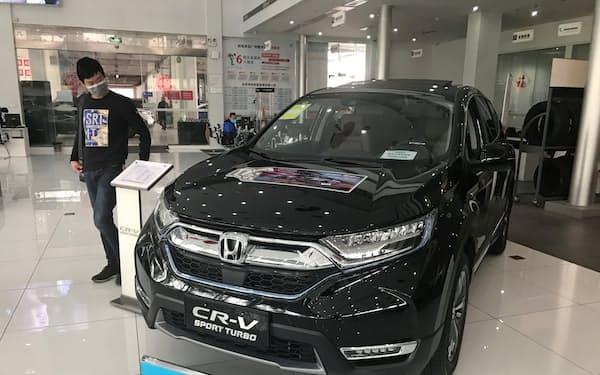 ホンダは中国で「CR-V」などの販売が好調で、3月の販売が過去最高だった