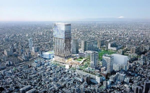 中野サンプラザの建て替え計画が前に進む
