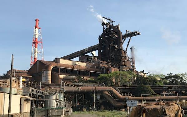 既存の高炉法でのCO2排出削減には限界がある(JFEスチールの千葉市の東日本製鉄所千葉地区)