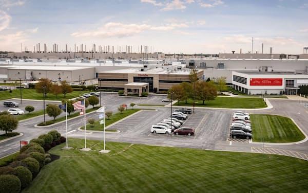 トヨタは米インディアナ工場で大型SUVを生産する