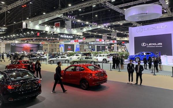 バンコク国際モーターショーは2年ぶりに3月開幕となった