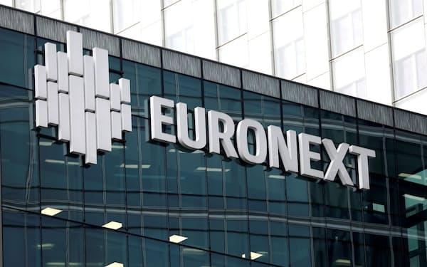 ユーロネクストは欧州の総合取引所としての成長をめざす(パリ)=ロイター