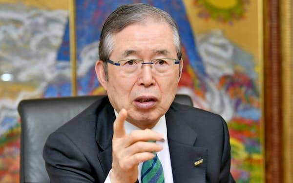 日本電産の永守重信会長兼CEO