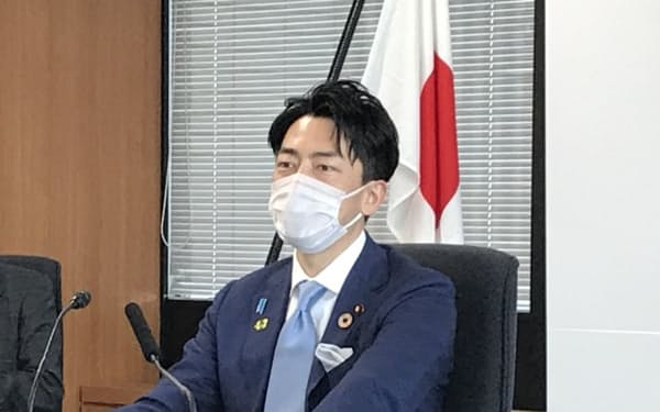 小泉環境相は福島の汚染土壌の最終処分に向けて、5月の対話集会に出席する