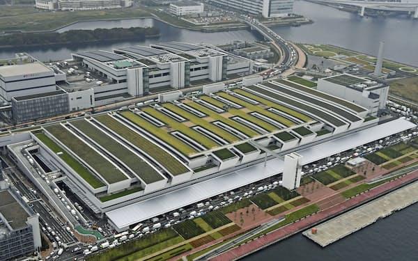 18年に移転・開業した豊洲市場(東京都江東区)