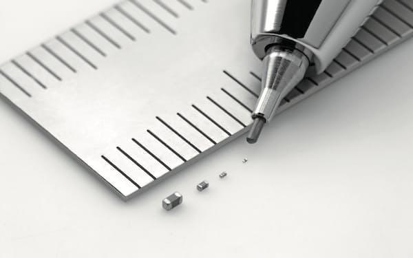 村田製作所のMLCCは製品への搭載数が増えている