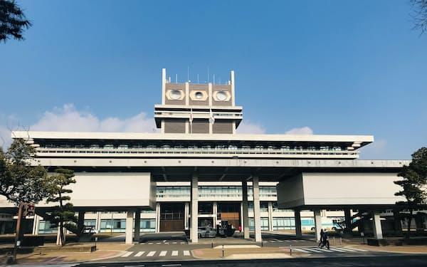 奈良県は各市町村の協力金に同額を上乗せする(奈良県庁)