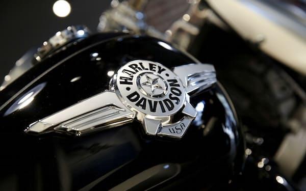 米ハーレーダビッドソンは今年のバイク売上高見通しを上方修正し、株価も堅調だ=ロイター