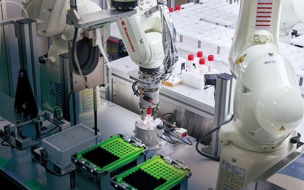 川重などが開発した全自動PCR検査システム