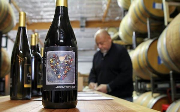 米カリフォルア州のワイン醸造業者=ロイター