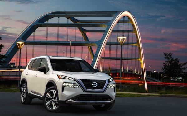 日産が20年秋に北米市場に投入した新型SUV「ローグ」