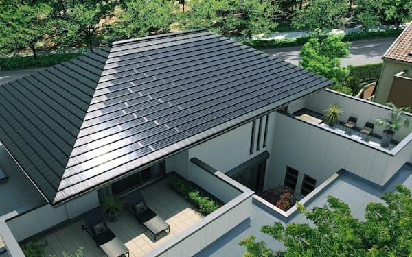 積水ハウスは太陽光発電パネルを搭載した新築住宅を積極的に販売している