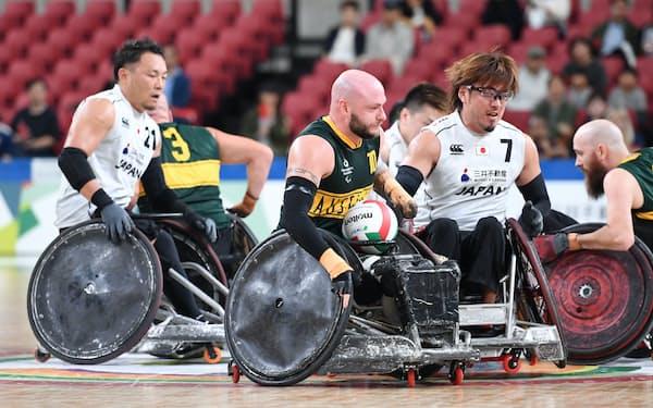 2019年10月のワールドチャレンジ準決勝で対戦した日本とオーストラリア。東京パラリンピックでも同じ組に入った
