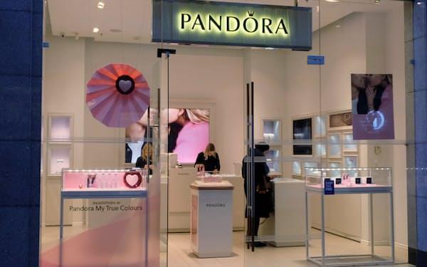 デンマークのパンドラは自社商品には天然ダイヤは使わないことを明らかにした=ロイター