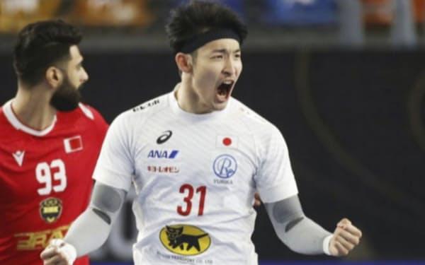 1月の世界選手権でチーム得点王になった吉野。大きな自信をつかんだ(田口有史/JHA提供)=共同