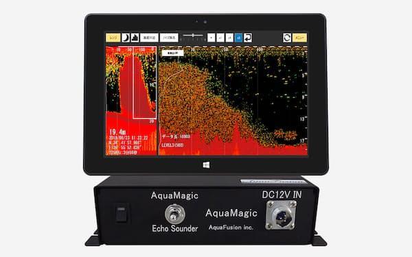 アクアフュージョンはソフトの定期更新で魚群探知機の判別精度を向上