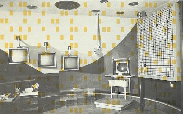 大阪万博に出展されたコンピュータ囲碁=日本棋院囲碁殿堂資料館提供