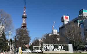 北海道の感染者も320人と過去最多に迫る水準(札幌市の大通公園)