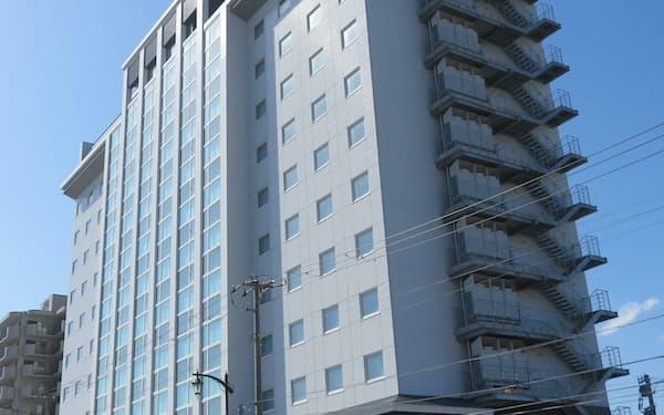 7月開業を予定する「函館湯の川温泉 海と灯/ヒューイットリゾート」