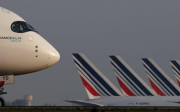 エールフランスKLMは航空需要が徐々に回復すると見込む=ロイター