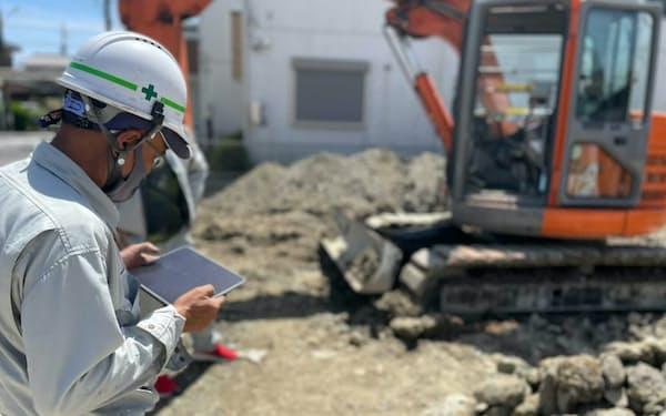 ソラビトは建機の手配や点検業務をクラウド上で管理できるソフトを開発する