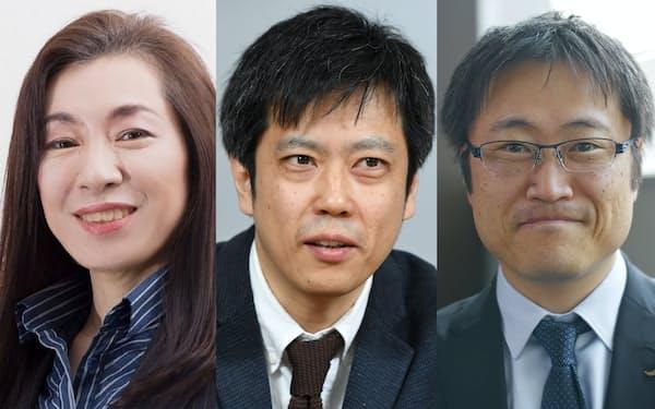(左から)志田、曽我部、井上の各氏