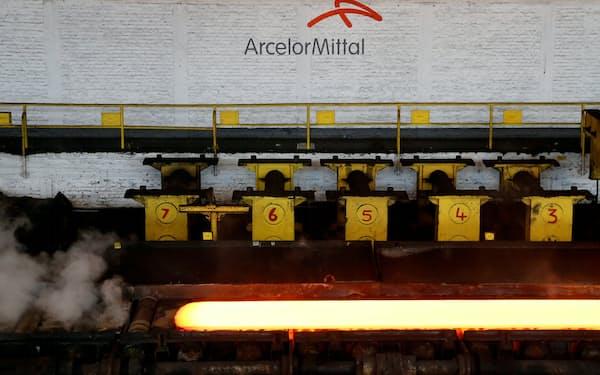 アルセロール・ミタルはほとんどの工場がフル生産に=ロイター