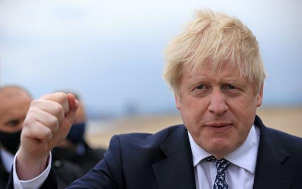 ジョンソン英首相は気候変動をG7サミットの主要議題に据える(写真は3日)=ロイター