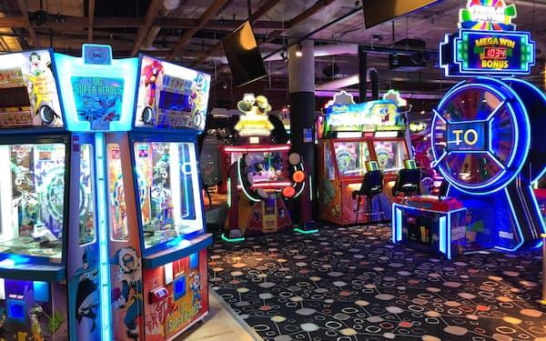 バンダイナムコはレストランやバーを併設する北米の娯楽施設を譲渡した