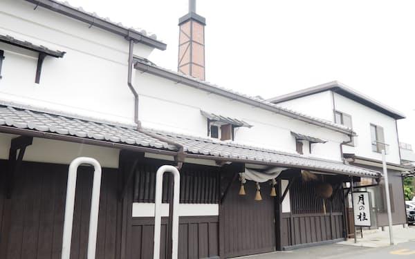「月の桂」で知られる伏見の増田徳兵衛商店(京都市)