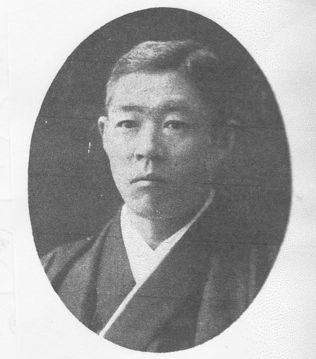 立川勇次郎(「京浜電鉄沿革史」より)