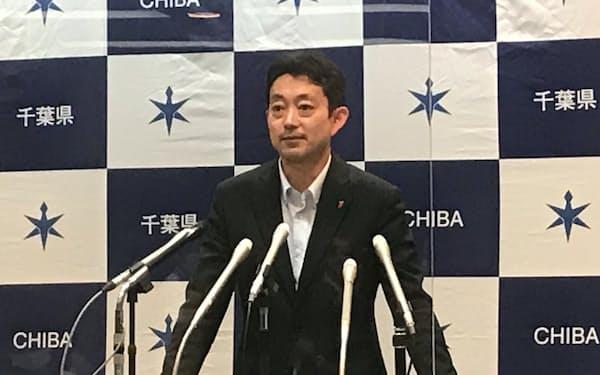 千葉県の熊谷俊人知事は重点措置延長に理解を求めた