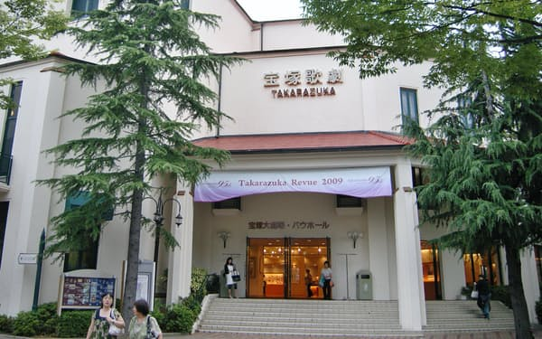 宝塚大劇場(兵庫県宝塚市)は15日から公演を再開する