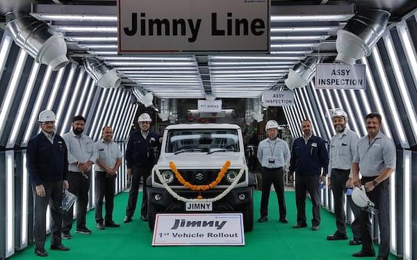 スズキのインドにおける四輪の年産能力は225万台に達している