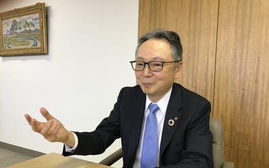 さいたま商工会議所の池田一義会頭(埼玉りそな銀行会長)