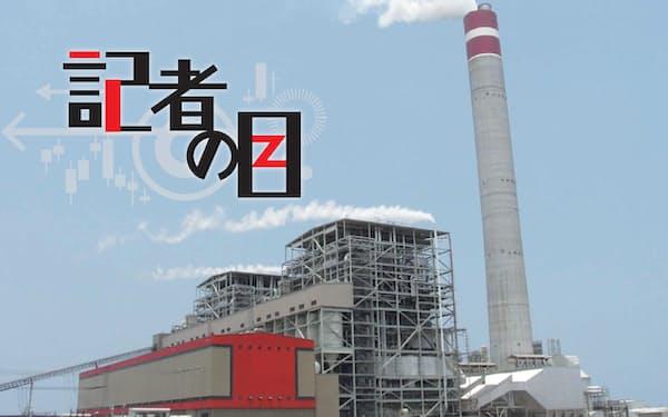住友商事がインドネシアで展開する石炭火力発電所。2040年代後半までの撤退を表明したが…
