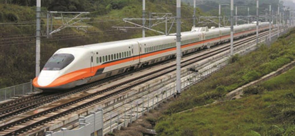 台湾高速鉄道向けの電気設備を受注した(台湾高速鉄道の車両)