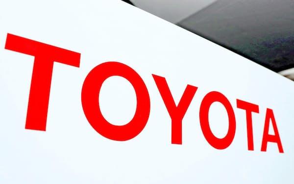 決算を発表したトヨタ自動車