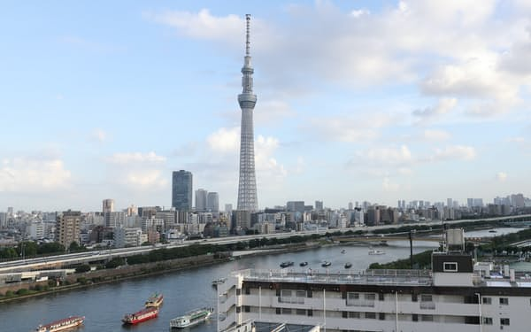 東京スカイツリーは31日まで休業する