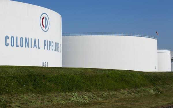 米ニュージャージー州にあるコロニアル・パイプラインの貯蔵タンク